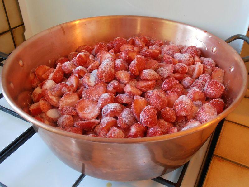 Confiture de fraises maison passions et saveurs par aurore - Confiture de fraise maison ...