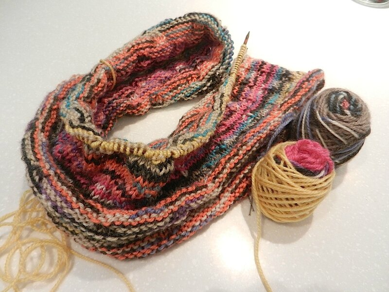 Snood Coloré 3