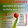 Week end du 18 & 19 avril 2015
