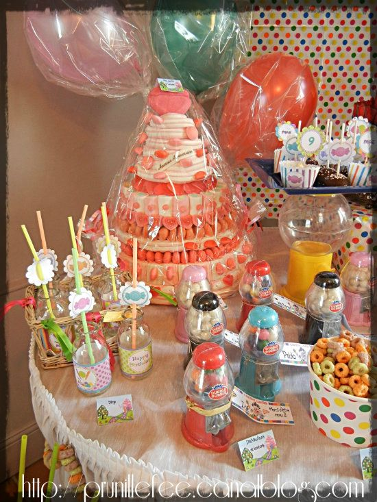 candyland birthday party prunillefee 1