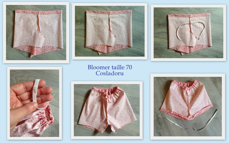 Bloomer taille 70a