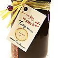 ..cadeaux gourmands 2011 : hot decadent fudge sauce au cointreau..