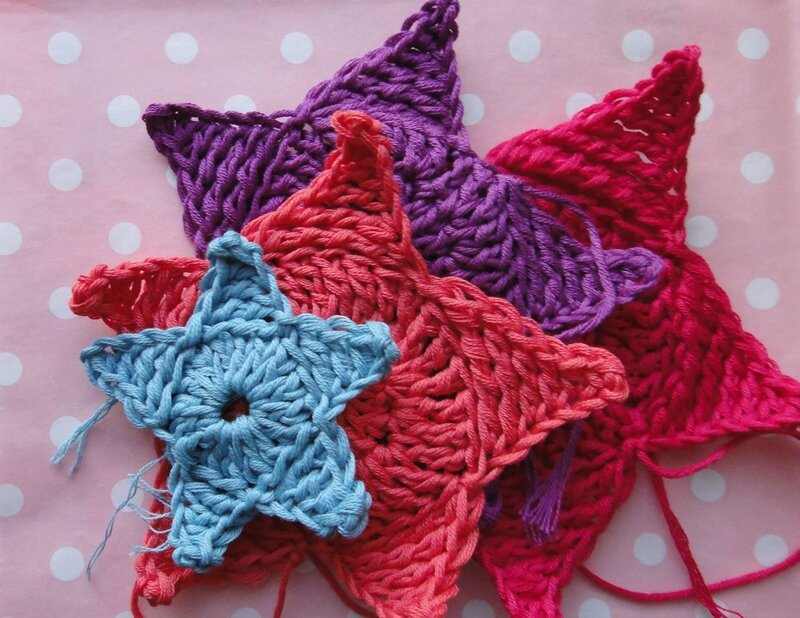 Etoiles crochet