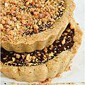 ..tartelettes choco-noisettes (sans gluten)..