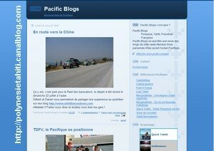 Pacific Blogs