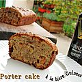 Porter cake (cake irlandais à la bière)