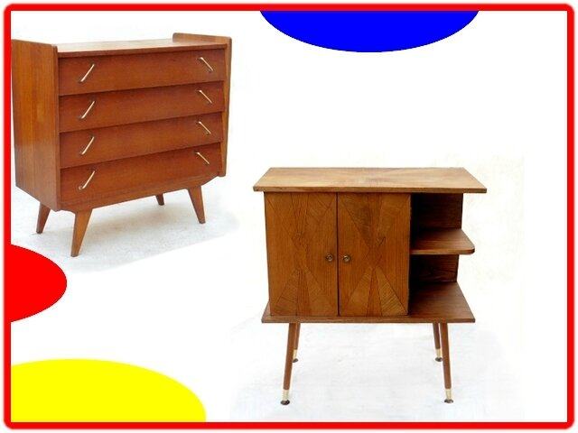 commode petit meuble d 39 appoint vintage annees 1970 vendu meubles et d coration vintage. Black Bedroom Furniture Sets. Home Design Ideas