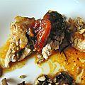 Gigot de chevreau aux abricots secs