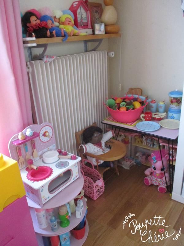 Chambre fille rose kawaii 16