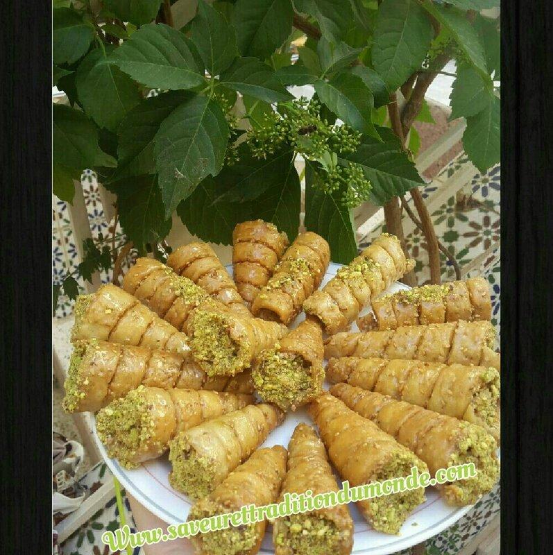 Cornets aux fruit secs
