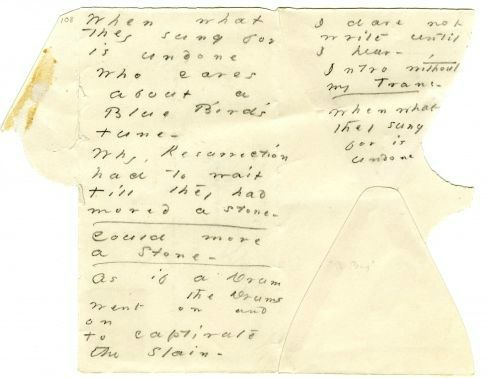 emily dickinson envelope poem amherst