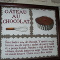 gteau au chocolat ... dlicieux !