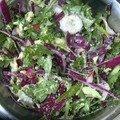 Salade de fin d'hiver