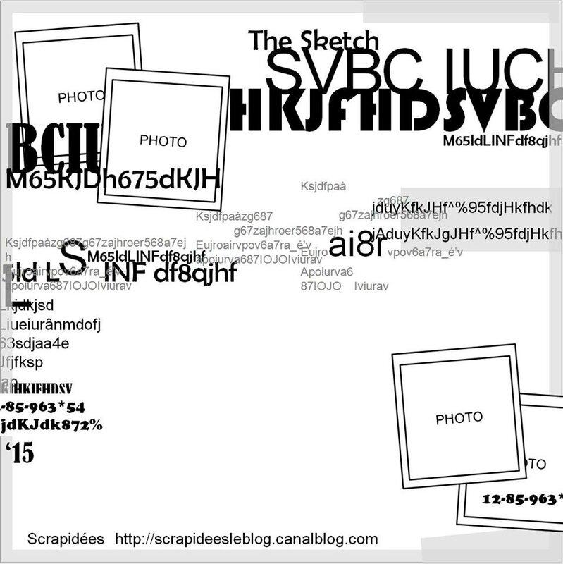 sketch lettres