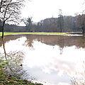 L'èvre vue du parc le 02/02/2013