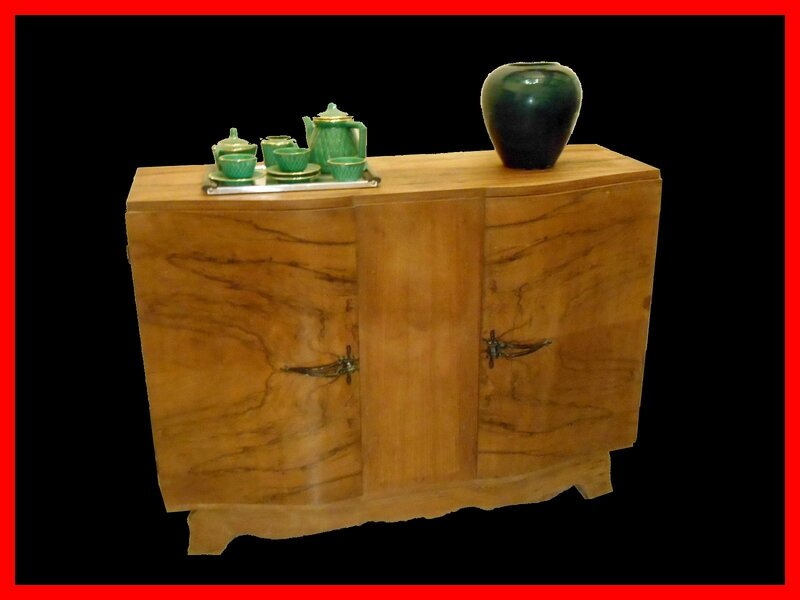 buffet art deco ann es 30 meubles et d coration vintage design scandinave. Black Bedroom Furniture Sets. Home Design Ideas