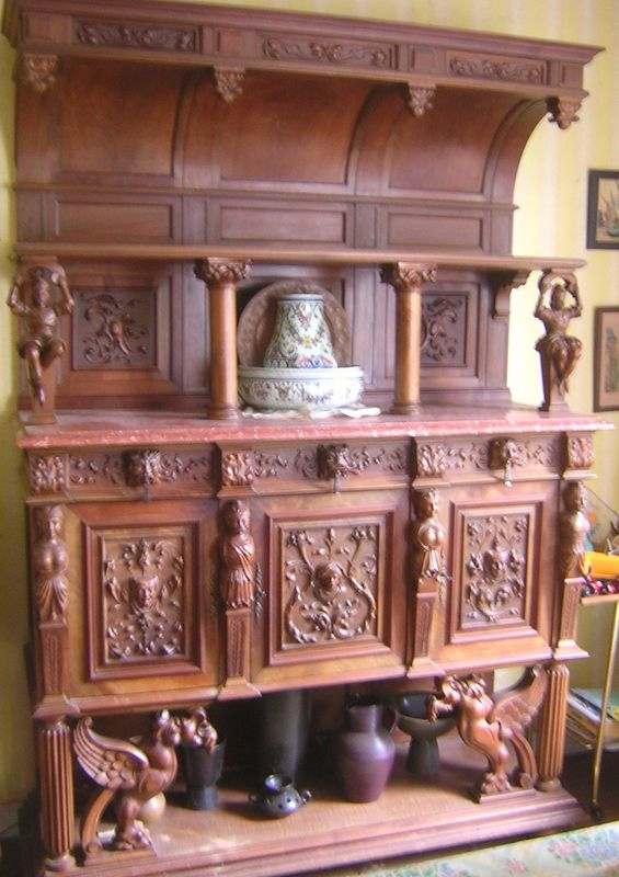 vends buffet renaissance style henri ii mon vide grenier en ligne. Black Bedroom Furniture Sets. Home Design Ideas