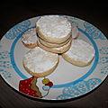 Biscuit fondant au citron vert