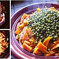Tajine de Carottes et Petits-Pois