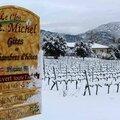 2015-Malaucéne le 05 février 2015.neige en Provence.