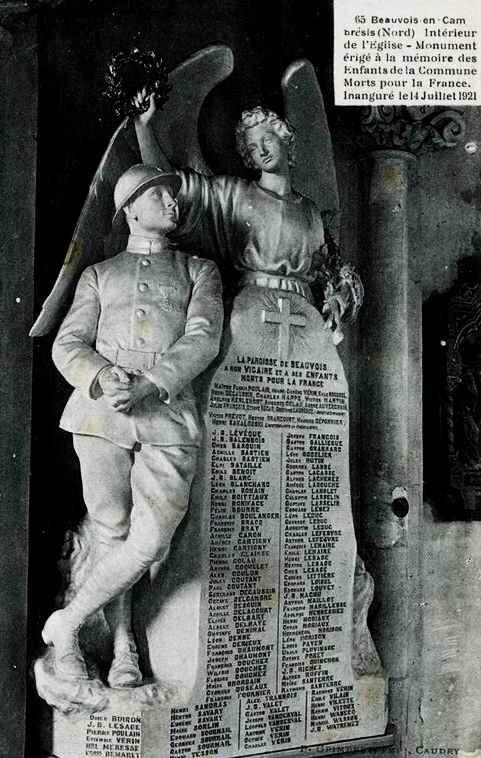 Monument Beauvois-en-Cambrésis (59157)