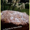 Jablecznik ou gâteau polonais à la compote