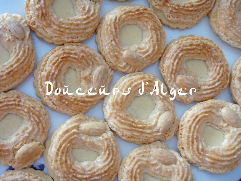 Galettes à la pâte sablée et aux amandes