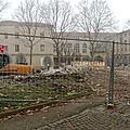 Le bâtiment de la sécu (cpam) a disparu