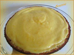 Gâteau citron fourré et meringué (2)