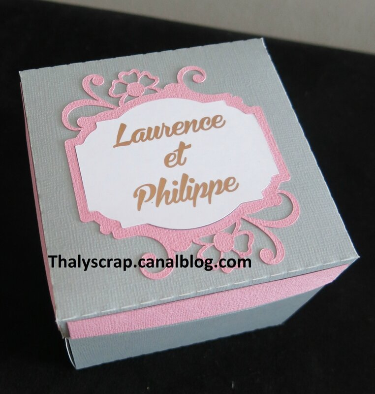 Carte mariage Philippe - 19 b