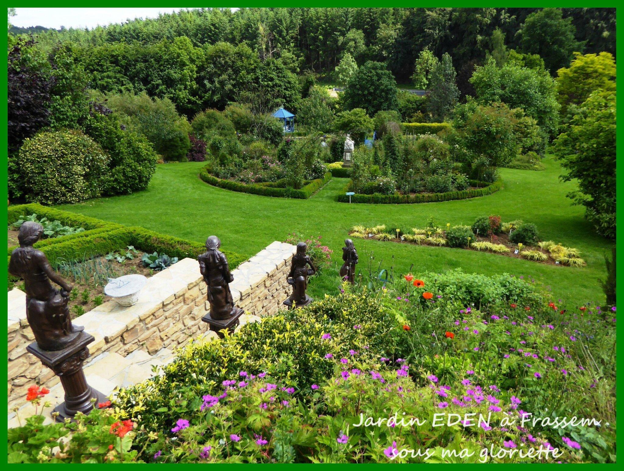 Jardin eden frassem belgique sous ma gloriette for Jardin eden prairie