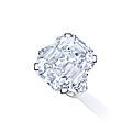 A 22.69 carats d colour vvs2 clarity type iia diamond ring