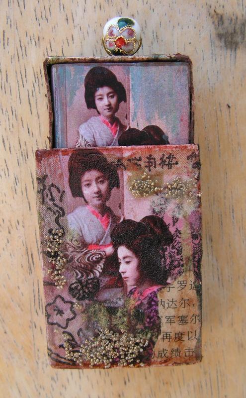 Mini livre Boîte d'allumette Asia2