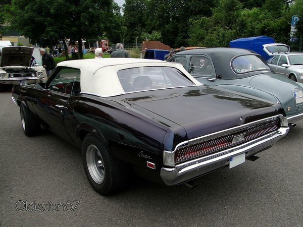 mercury cougar convertible 1969 c