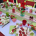 table Ramnes ta fraise... c'est le temps des cerises!