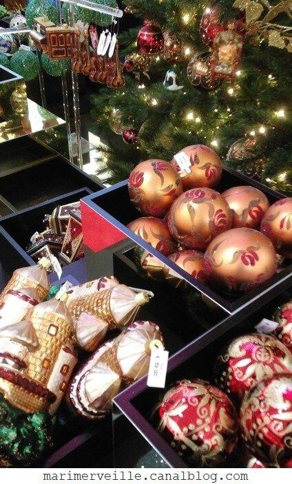 Décoration arbre de Noël chateau enchanté5 - marimerveille