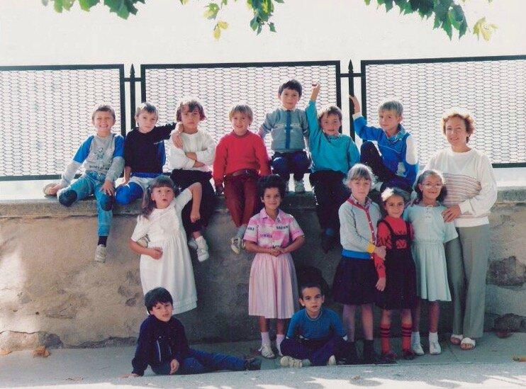 école Lavieu 1987