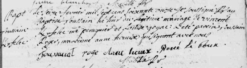 1771 naissance Toussaint Kerfelec à Malestroit