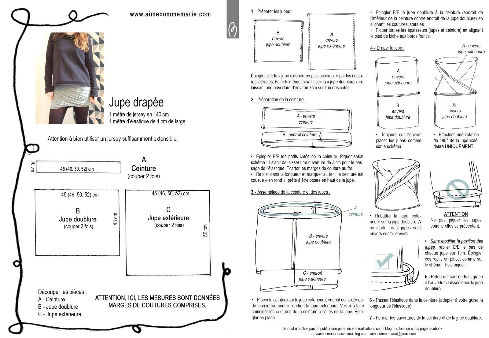 Vêtements femme - Le site pour apprendre à coudre seul(e) !