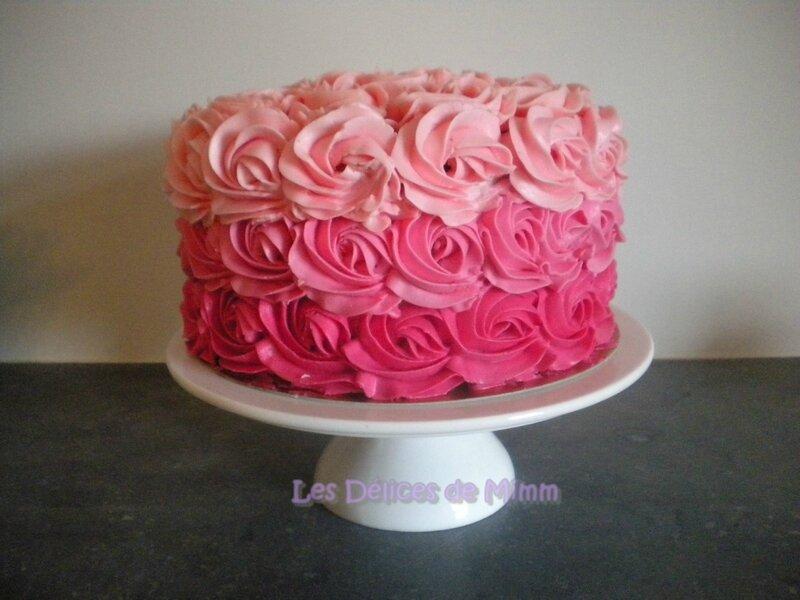 Top Un rose cake pour Marion - Les Délices de Mimm JS07