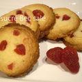 Cookies vanille-fraise
