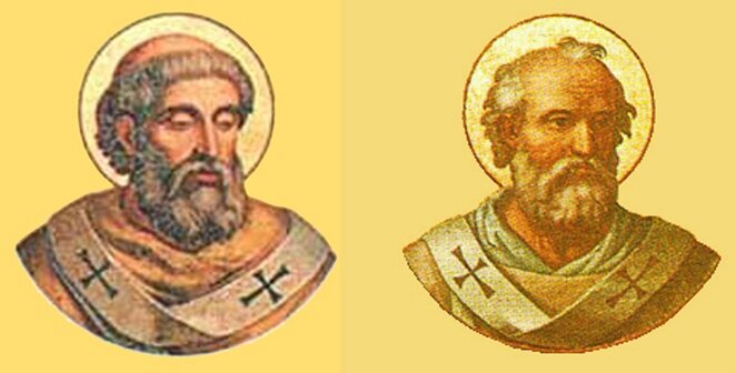 Papes Gregoire II & Boniface IVI