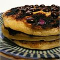 ..Pancakes aux ppites de chocolat (ou comment sauver un pti dj' en pril !)..