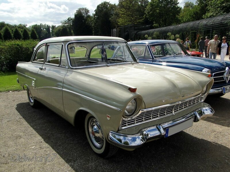ford taunus 17m p2 de luxe coupe 1960 a