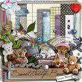 Kit sweet teddy de cecile design