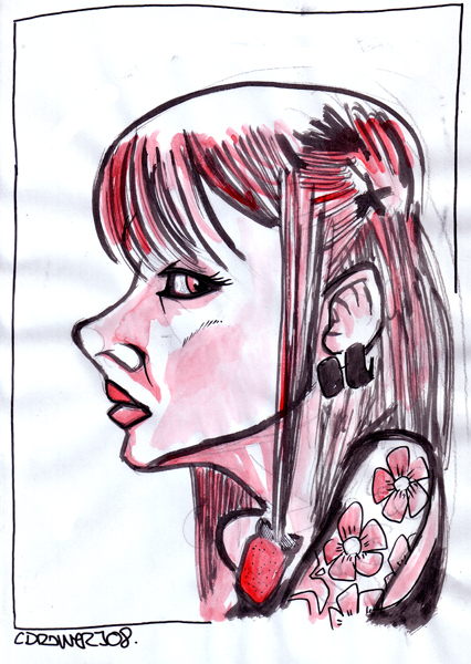 caricature_cherry_blossom