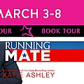 ** book tour ** running mate by katie ashley