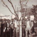 La manif'  Sainte-Foy, en 1973, contre la loi Debr.