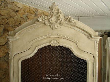 Relooking armoire bonnetiere decoration de charme shabby le grenier dalice 3