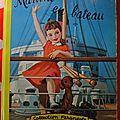 Martine en bateau 1961